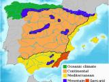 Spain Temperature Map Green Spain Wikipedia