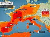 Spain Temperature Map Valencia Weather Accuweather forecast for Vc