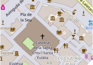 Spain Walking Maps City Walk Barri Gotic Walking tour Barcelona Spain Spain In