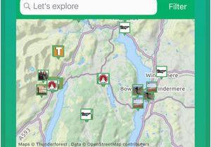 Spain Walking Maps Viewranger Hike Ride or Walk On the App Store