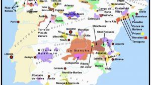 Spain Wine Region Map Spanish Wine Regions Map WordPress Com Espana and