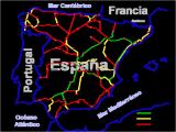 Spains Map Spain Railways Skyscrapercity