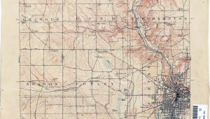 Springfield Ohio Map Ohio Historical topographic Maps Perry Castaa Eda Map Collection