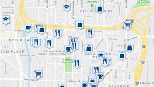 St Joe Michigan Map 126 E St Joseph St Indianapolis In Walk Score