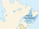 St Lawrence River Canada Map Gulf Of Saint Lawrence Wikipedia