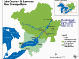 St Lawrence River Canada Map Map Of Loslr Drainage Basin source Map Courtesy Of the Ijc