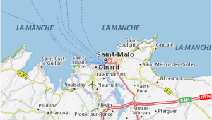 St Malo France Map Saint Malo Map Detailed Maps for the City Of Saint Malo Viamichelin