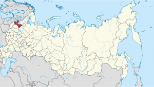 St Petersburg Europe Map Oblast Leningrad Wikipedia