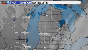 Stanton Michigan Map Radar Satellite