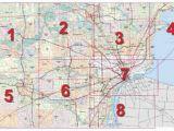 State Of Michigan Road Map Mdot Detroit Maps