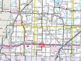 State Of Minnesota Road Map Guide to Adrian Minnesota