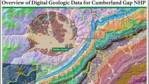 State Parks In Tennessee Map Nps Geodiversity atlas Cumberland Gap National Historical Park