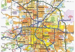 Sterling Colorado Map Denver Metro Map Unique Denver County Map Beautiful City Map Denver