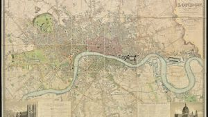 Stratford Canada Map Fascinating 1830 Map Shows How Vast Swathes Of the Capital Were