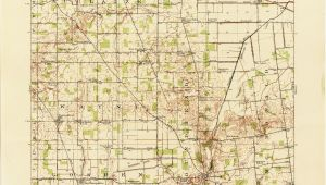 Street Map Of Columbus Ohio Ohio Historical topographic Maps Perry Castaa Eda Map Collection