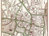 Street Map Of Dayton Ohio Hartford Print Hartford Street Map Hartford Vintage Map Hartford