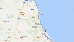 Street Map Of Denia Spain Admin Seite 16 Meer Europa