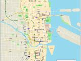 Street Map Of Downtown Columbus Ohio Miami Downtown Map