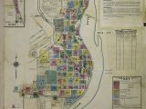 Street Map Of Flint Michigan Map 1950 1959 Michigan Library Of Congress