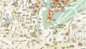 Street Map Of Granada Spain Leaflets and Maps Of Granada Turismo De Granada