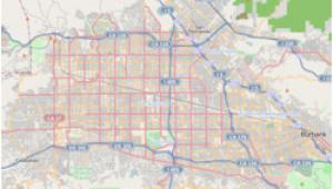 Studio City California Map north Hollywood Los Angeles Wikipedia