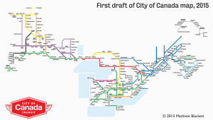 Subway Map toronto Canada A Closer Look at the City Of Canada Transit Map Spacing National