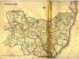 Suffolk County England Map Suffolk Maps Genealogy Familysearch Wiki