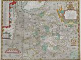 Swindon Map Of England atlas Of the Counties Of England and Wales Sponsored by T