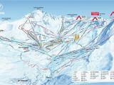 Switzerland Map In Europe Val Thorens Piste Map 2019 Ski Europe Winter Ski