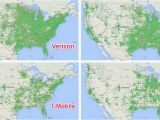 T Mobile Coverage Map Canada Verizon Wireless Coverage Map oregon Us Cellular Florida