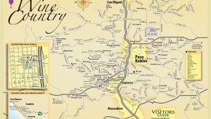 Taft California Map Map Of Paso Robles California Massivegroove Com