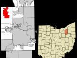 Tallmadge Ohio Map Western Reserve Revolvy