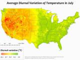 Temperature Map France Diurnal Temperature Variation Revolvy