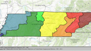 Tennessee Senate District Map Tennessee S Congressional Districts Wikipedia
