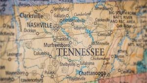 Tennessee State Map with Cities and Counties Old Historical City County and State Maps Of Tennessee