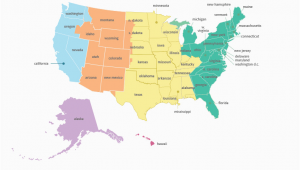 Tennessee Time Zone Map with Cities Printable Time Zone Map