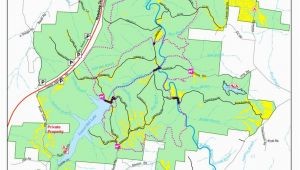 Tennessee Wma Maps Laurel Hill Wildlife Management area Maplets