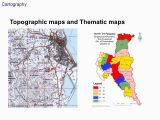 Terrain Map Of Canada Cartography topographic Maps and thematic Maps 1 Simplification
