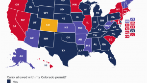Texas Ccw Reciprocity Map Concealed Carry is Legal In Colorado for Residents with A Colorado