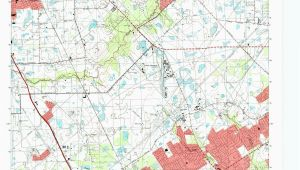 Texas Geological Survey Maps tomball Quadrangle the Portal to Texas History
