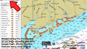 Texas Gulf Coast Fishing Maps Texas Fishing Maps Business Ideas 2013