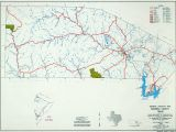 Texas Hill Country Counties Map Texas County Highway Maps Browse Perry Castaa Eda Map Collection