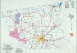Texas Map with County Lines Texas County Highway Maps Browse Perry Castaa Eda Map Collection