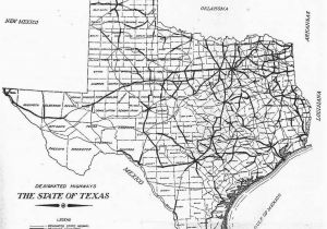 Texas Map with Highways Map Of Texas Black and White Sitedesignco Net