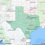 Texas Postal Code Map Listing Of All Zip Codes In the State Of Texas
