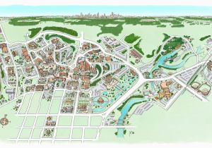 Texas State University Campus Map Campus Maps