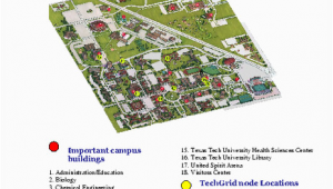 Texas Tech Maps New Ttu Campus Map Bressiemusic