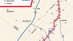 Texas toll Road 130 Map State Highway 130 Maps Sh 130 the Fastest Way Between Austin San