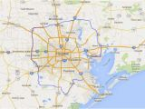 Texas tollways Map See How Grand Parkway Compares In Size to Other Land formations