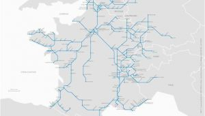 Tgv Map Of France How to Plan Your Trip Through France On Tgv Travel In 2019